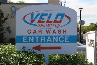 Car Wash Entrance